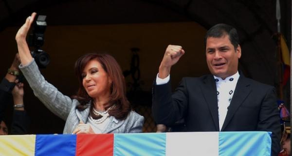 La agenda de Cristina en Ecuador
