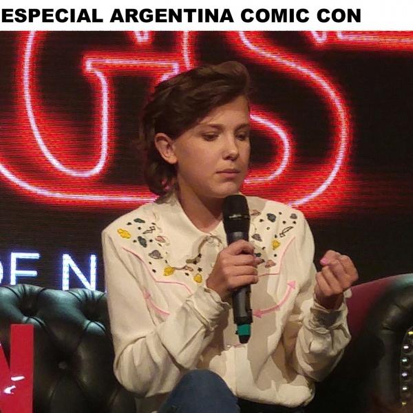 Comic-Con: Millie Bobby Brown, la pequeña gigante